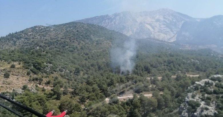Muğla'nın akciğerindeki yangına acil müdahale
