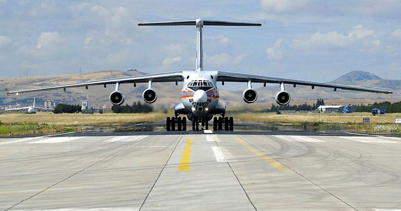 S-400'leri taşıyan 14. Rus uçağı Mürted'e indi