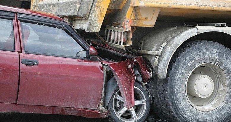 Kula'da zincirleme trafik kazası: 1 ağır yaralı