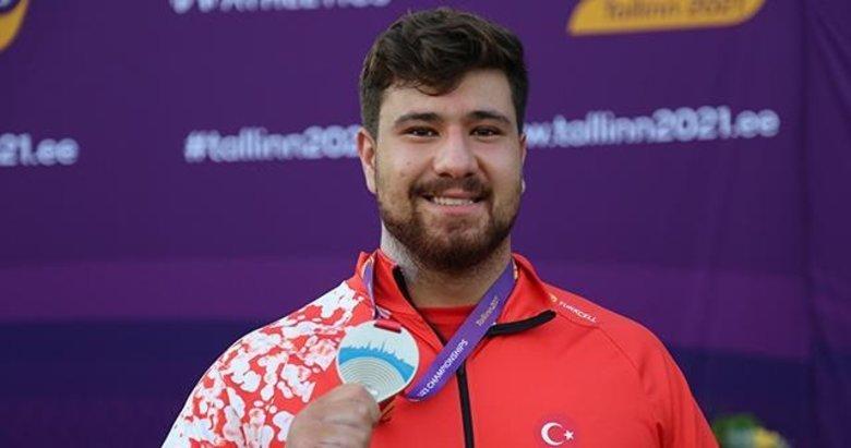 Alperen Karahan'dan tarihi başarı: Gülle atmada ilk madalya