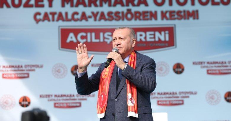 Başkan Erdoğan: Türkiye'nin yükselişi Haçlı artıklarının zoruna gidiyor