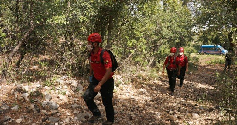 Muğla'da kaybolan dağcı için arama çalışması sürüyor