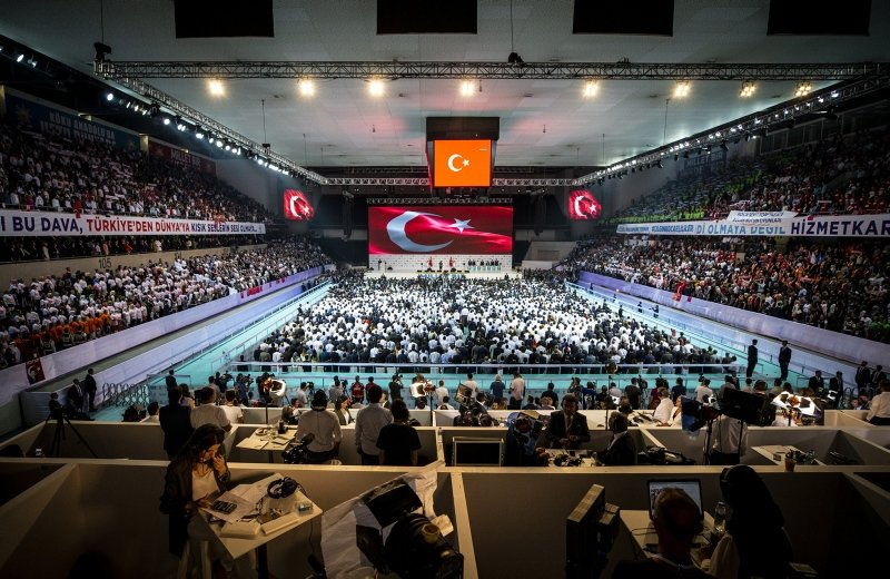 AKParti 6. Olağan Kongresi'nde büyük coşku