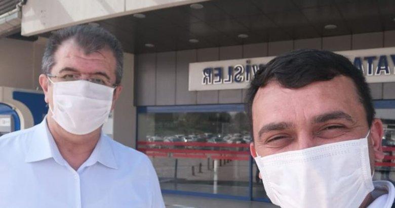 Koronavirüsü yenen 112 Denizli Ambulans Servisi Başhekimi taburcu edildi