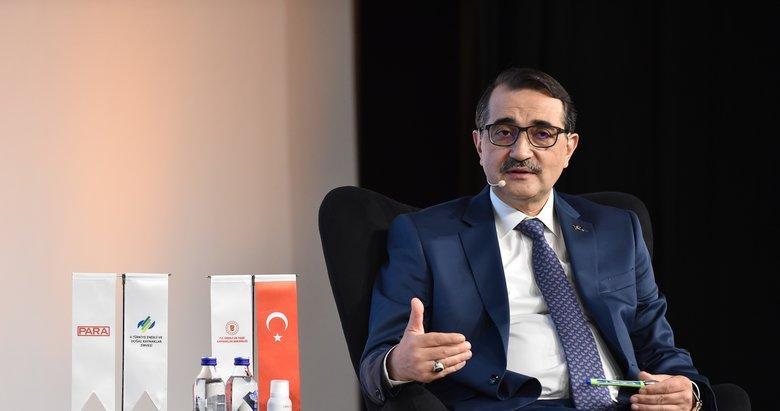 Enerji ve Tabii Kaynaklar Bakanı Fatih Dönmez: Karadeniz'de 1 yılda 540 milyar metreküp rezerv bulduk