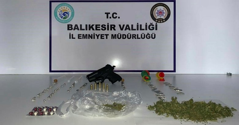 Ayvalık'ta uyuşturucu operasyonu