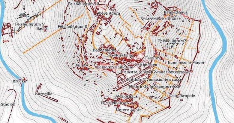 2 bin 300 yıl önceki Bergama dijital dünyada
