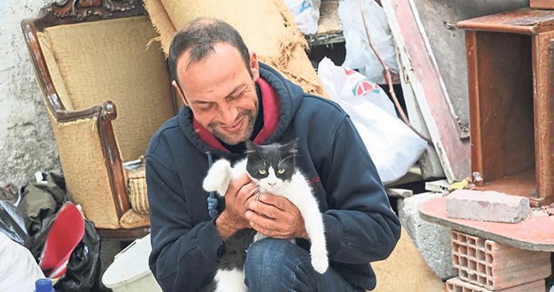 Sokak kedileri artık komşulara emanet