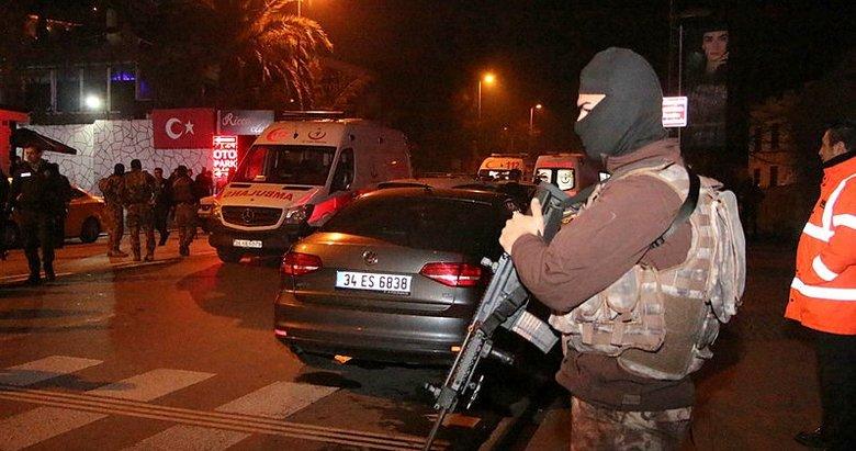 Ortaköyde silahlı kavga