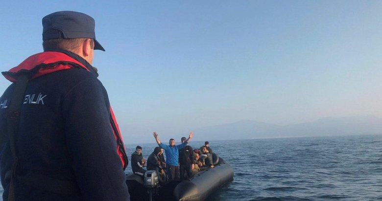 Aydın'da 25 düzensiz göçmen yakalandı