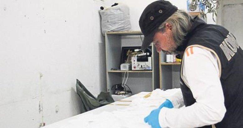 İzmir'de sahte maske operasyonu