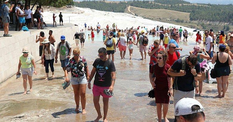 Pamukkale'de 2020 hedefi: 3 milyon 500 bin ziyaretçi