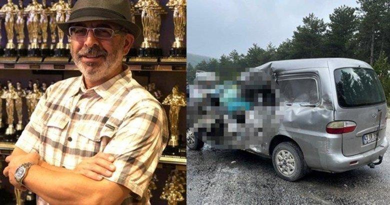 TIR'ın çarptığı minibüsün sürücüsü öldü, eşi yaralandı