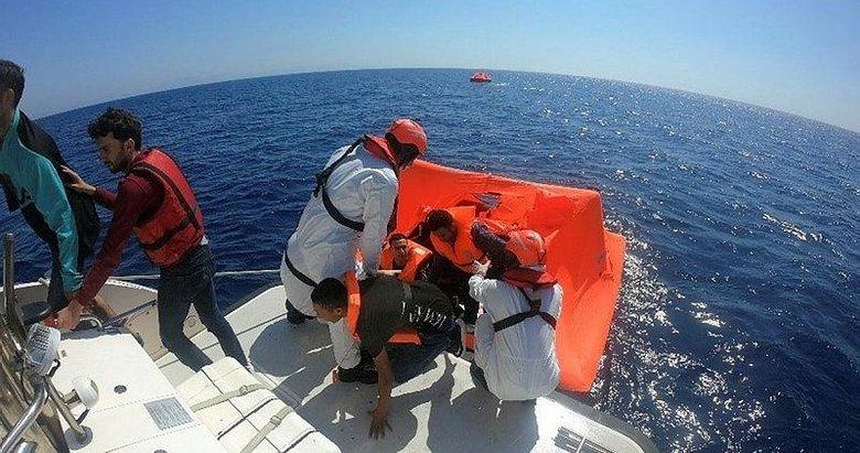 Aydın'da 39 düzensiz göçmen kurtarıldı