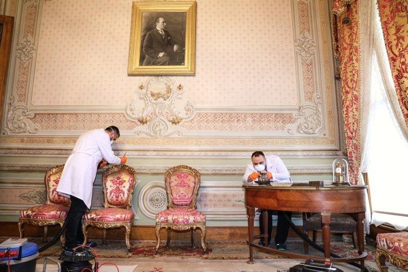 Dolmabahçe Sarayı 10 Kasım'a hazırlanıyor