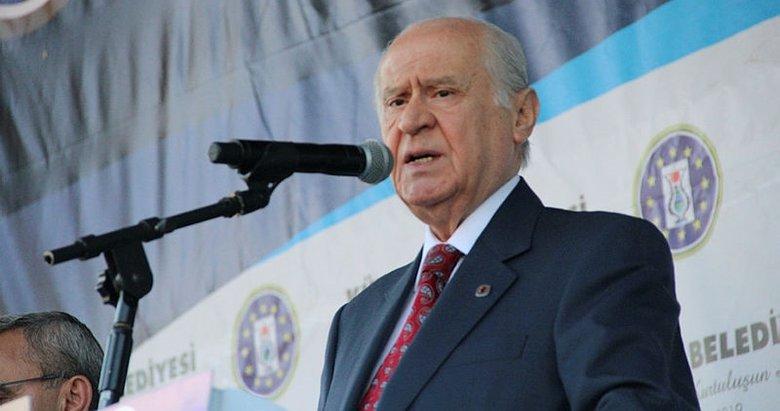 MHP lideri Bahçeli'den Kastamonu'da önemli açıklamalar