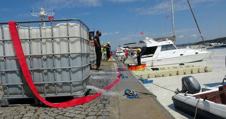 Çanakkale Boğazı'nda 3 günde 37 metreküp müsilaj toplandı