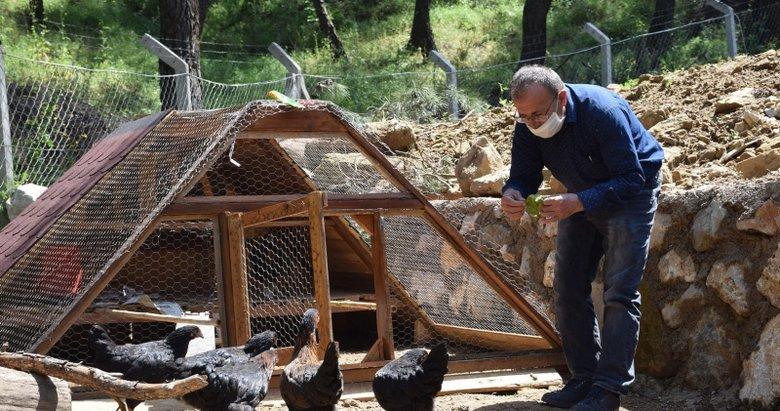 Salgın nedeniyle İzmir'deki doğal yaşam köyüne talep arttı