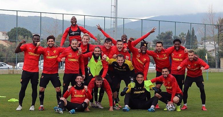 Göztepe, MKE Ankaragücü maçının hazırlıklarını sürdürdü