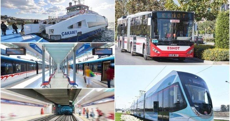 İzmir'de toplu ulaşıma pandemi ayarı! Sefer saatleri değişti