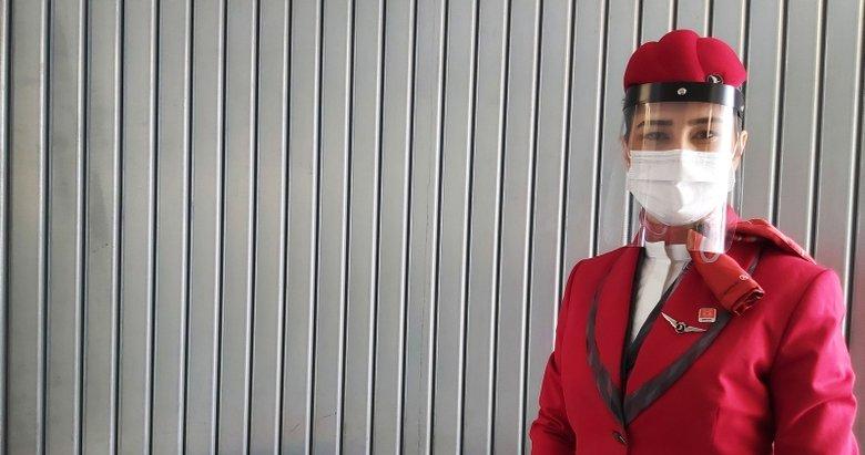 THY uçaklarında hijyen ekibi iş başında