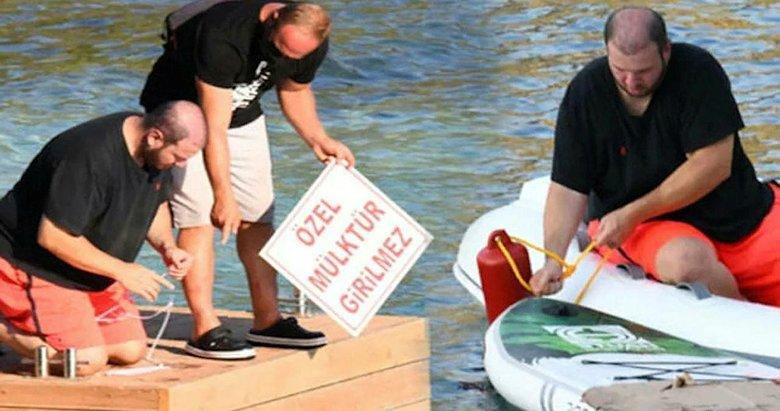 Şahan Gökbakar'a kötü haber: İzinsiz yaptırdığı iskelesi kaldırılacak