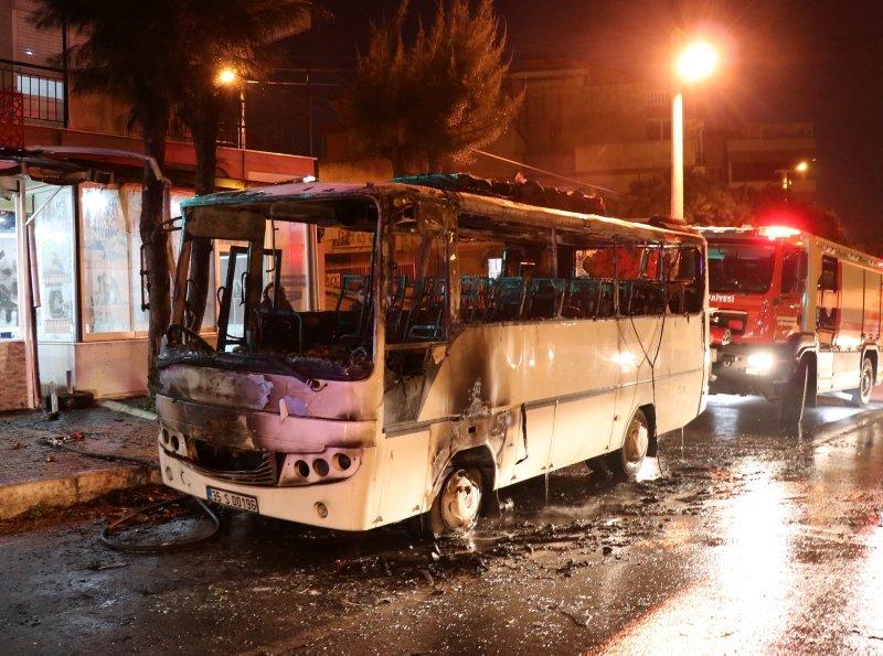 İzmir'de korkunç yangın