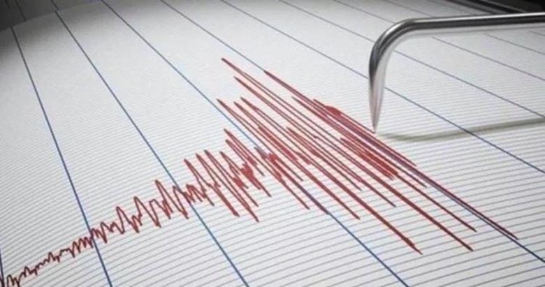 Denizli'de 3.9 büyüklüğünde deprem meydana geldi