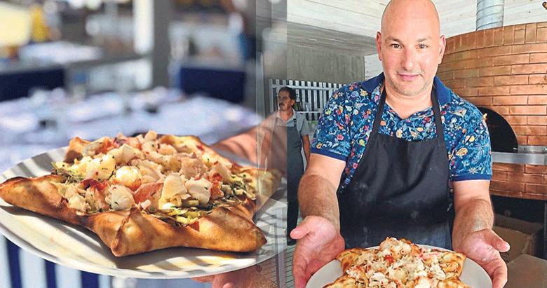 500 TL'lik pizzayı 150 kişi yedi!