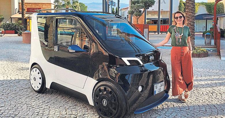 İzmirli firma mini elektrikli araç üretti