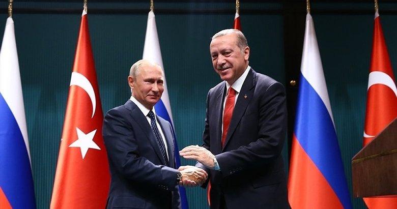 Putinden Erdoğana tebrik