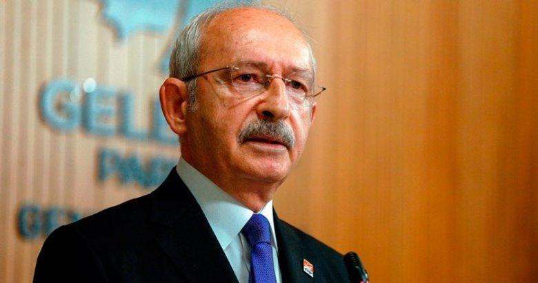 CHP lideri Kemal Kılıçdaroğlu çarşafladı