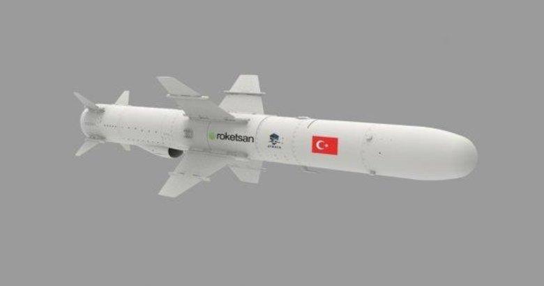 Türkiye'nin ilk deniz füzesi Atmaca Yunan basınında