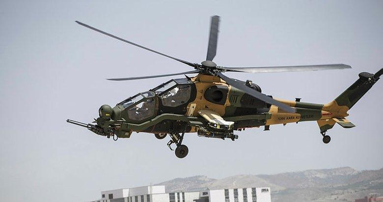 54'ncü Atak helikopteri de envantere girdi