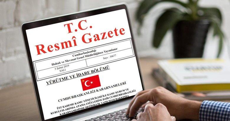Karar Resmi Gazete'de yayımlandı! Yargıtay'a iki yeni üye