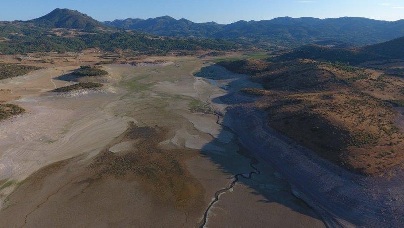 Balıkesir'deki Çayören Barajı kurudu!