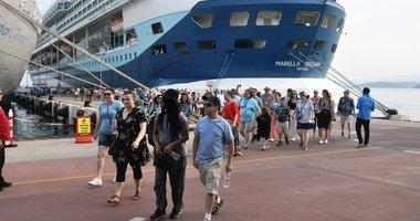 Aydın'da tatil cenneti Kuşadası'na turist akını! Bayram sonrası