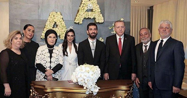 Arda'nın şahidi Erdoğan oldu