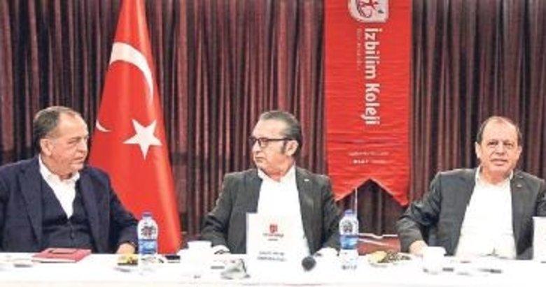 İzbilim Koleji'nden İzmir iş insanlarına sunum