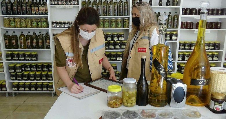 Balıkesir'de zeytincilere koronavirüs denetimi