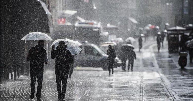 İzmir hava durumu! O illere sağanak yağış uyarısı! 1 Aralık Salı hava durumu...