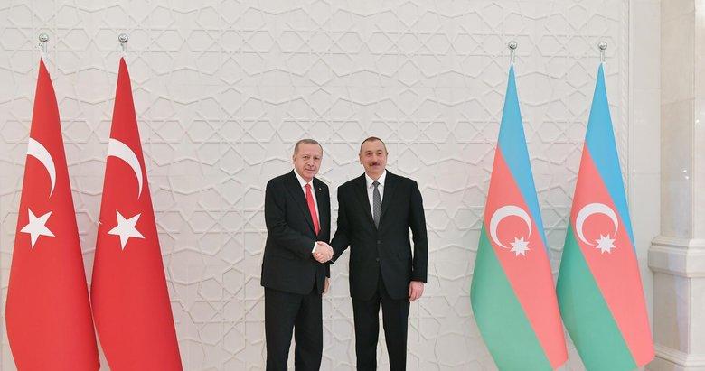 Başkan Erdoğan, Aliyev'i kutladı!