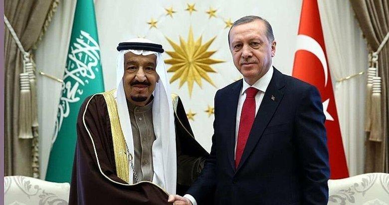 Son dakika: Başkan Erdoğan, Suudi Arabistan Kralı Selman'la telefonda görüştü
