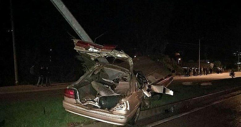 Çanakkalede trafik kazası: 1 ölü