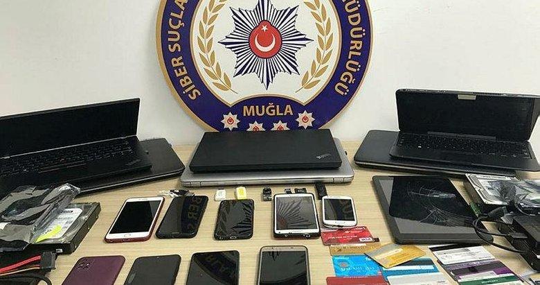 Muğla merkezli dolandırıcılık operasyonunda 18 şüpheli yakalandı