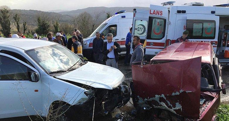 Aydında trafik kazası: 1 ölü, 3 yaralı