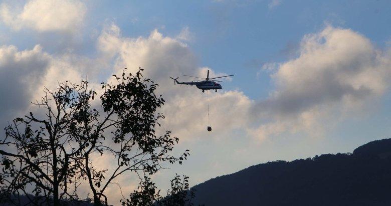 Çanakkale'deki orman yangını kontrol altında