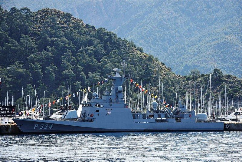 Muğla'daki savaş gemileri ziyarete açıldı