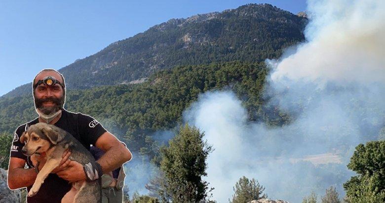 Seydikemer'de yangınları söndürmek için halk seferber oldu!