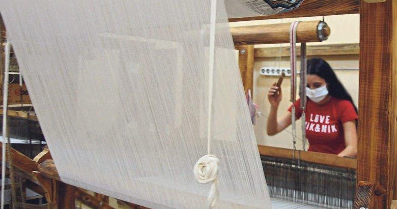 600 yıllık tarihi Manisa bezi yeniden dokunuyor